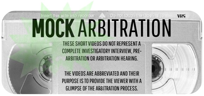 Mock Arbitration Graphic